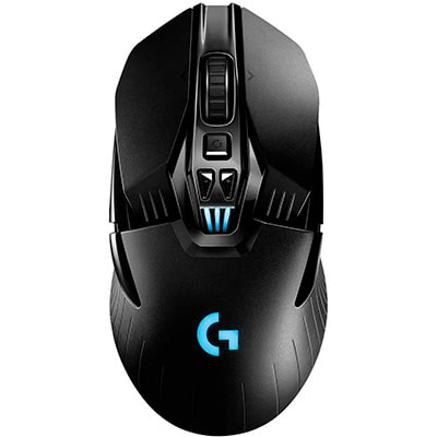 Souris gaming sans fil ambidextre Logitech G903 Hero