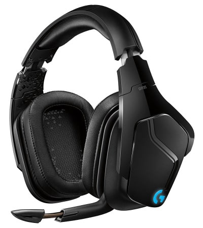 Casque gamer pc sans fil Logitech G935