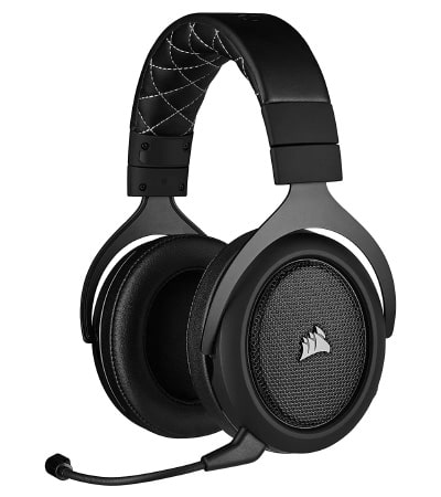 Micro-casque-pc-gamer sans fil - Corsair HS70 Pro